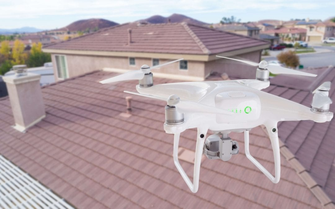 drones in home inspections are helpful for examining all areas of a roof