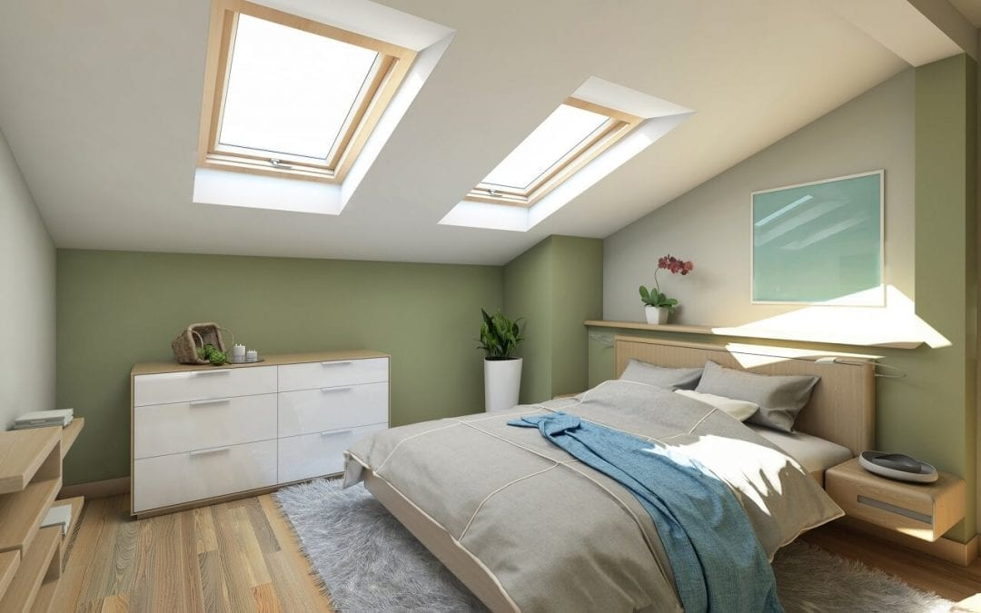 finishing the attic is one of the projects with good return on investment