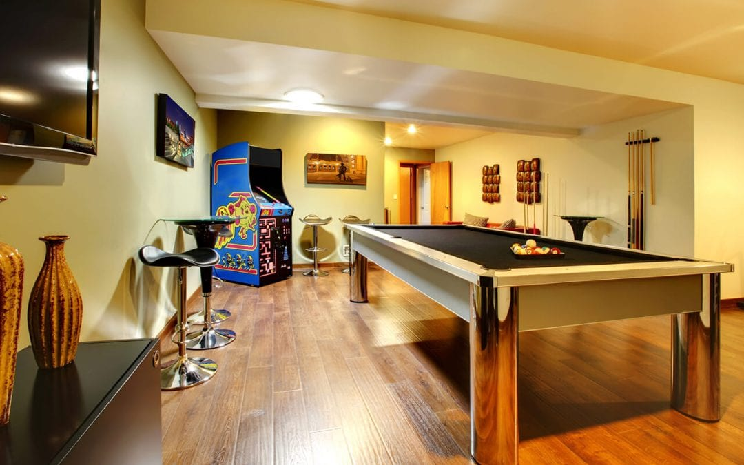 5 Ideas for Finishing the Basement